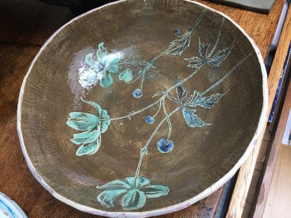 bowl - anemones