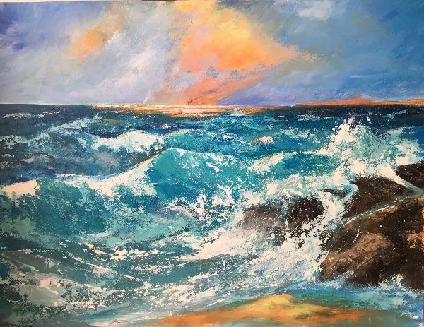 Rough seas SOLD
