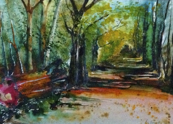 Thames Tow path 1 - SOLD