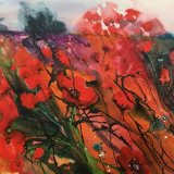poppy fields SOLD