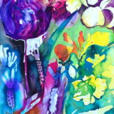 Purple Tulip SOLD
