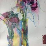 Magenta blooms  SOLD