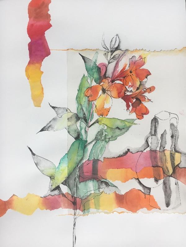 Peruvian Lilies SOLD