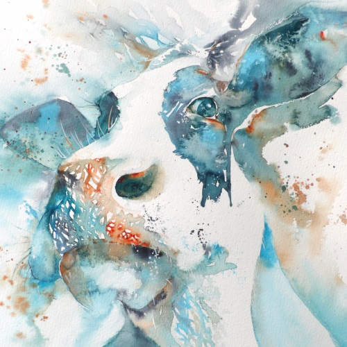 Moody cow II