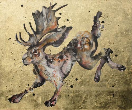 Horned hare