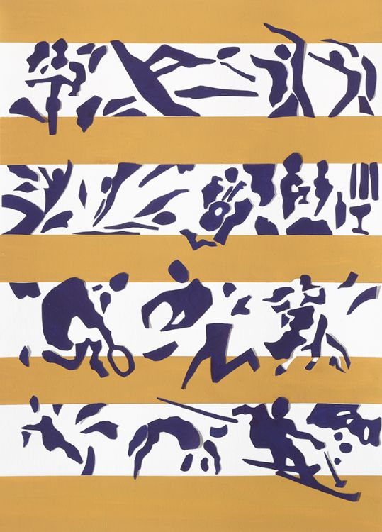 Clyde and CO Law Firm Matisse papier decoupe style