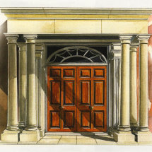 Ellesmere House front door