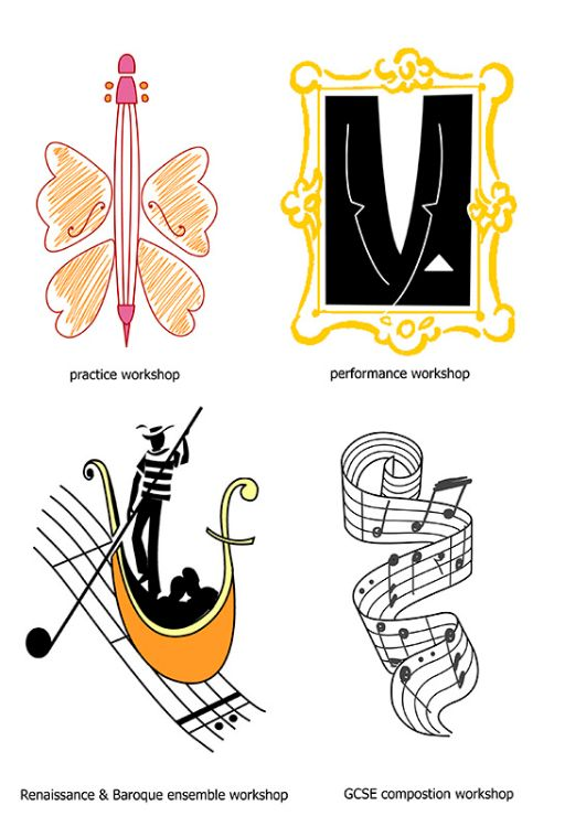 Icons for Cellist website