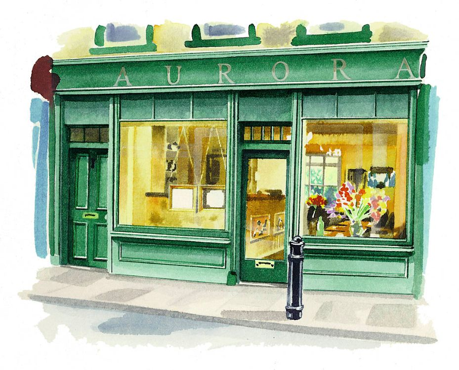 Sunday Times Mag Aurora Restaurant Soho