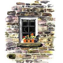 Welsh cottage window