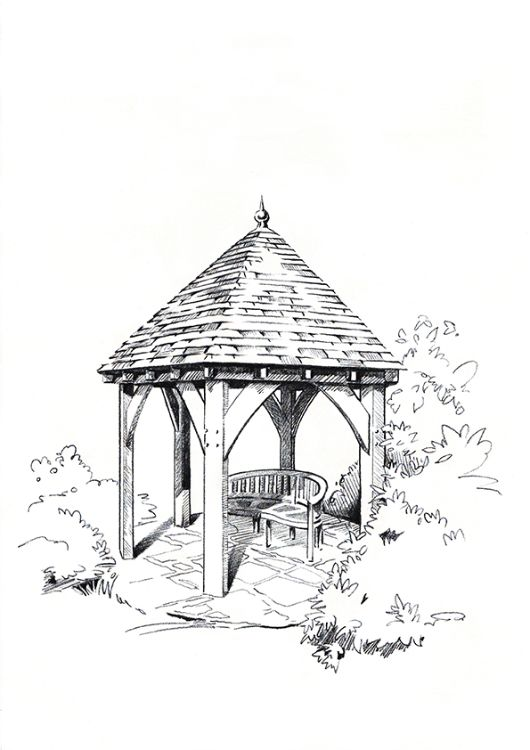 oak frame gazebo2