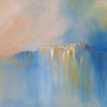Castell de L'Emporda (oil on canvas, 60x120 cm) SOLD