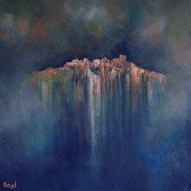 Storm Castle (oil on canvas, 60x60 cm)