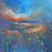 Towards Spring (acrylic on canvas, 50x50 cm)