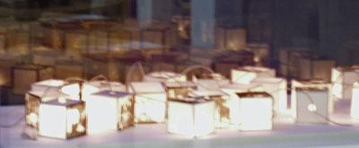 Lanterns encased