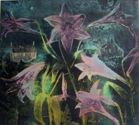 Crail Night viscosity etching48 x 43 cms £400