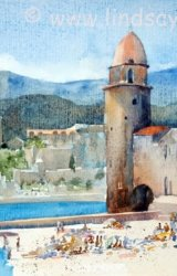 Collioure in the Pyrénées-Orientales