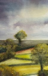 SOLD - Moody Weather Over Bentley Way