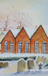 The School in Winter, SSJ  SOLD