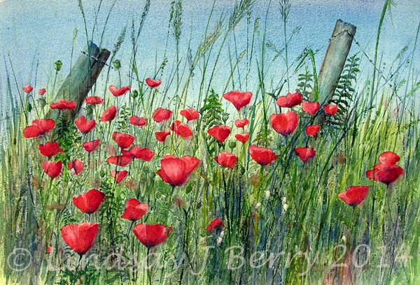 Remembrance (Edge of the Field)    SOLD  (Prints Available)