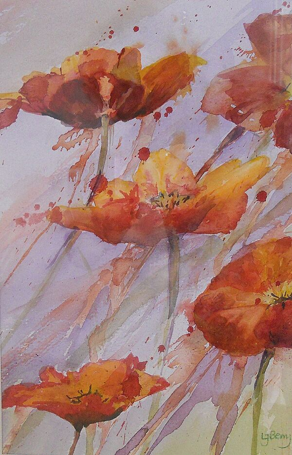 Hot Poppies