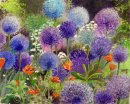 An Abundance of Aliums (SOLD)