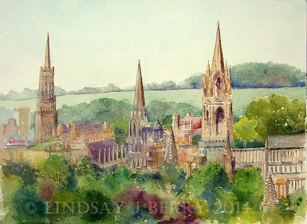 'Spire Envy' in Oxford