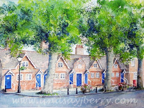 Andrew Windsor Alms Houses, Farnham NFS