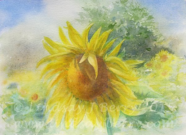Painting Sunshine  SOLD