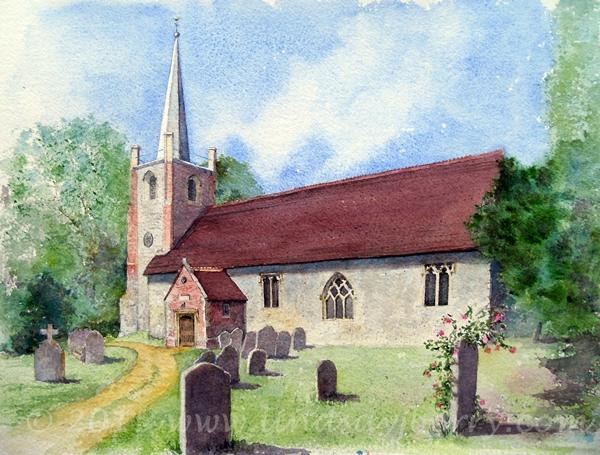 St Andrews Church, Sherborne St John