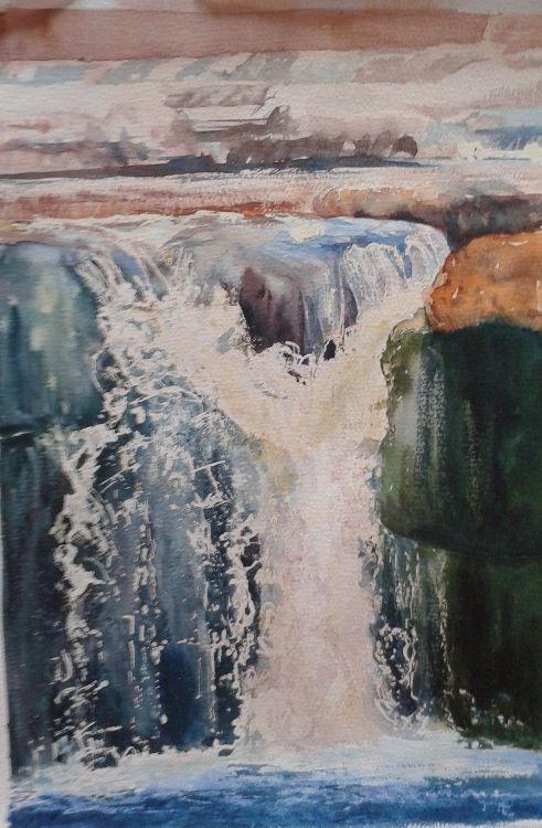 Waterfall in Green