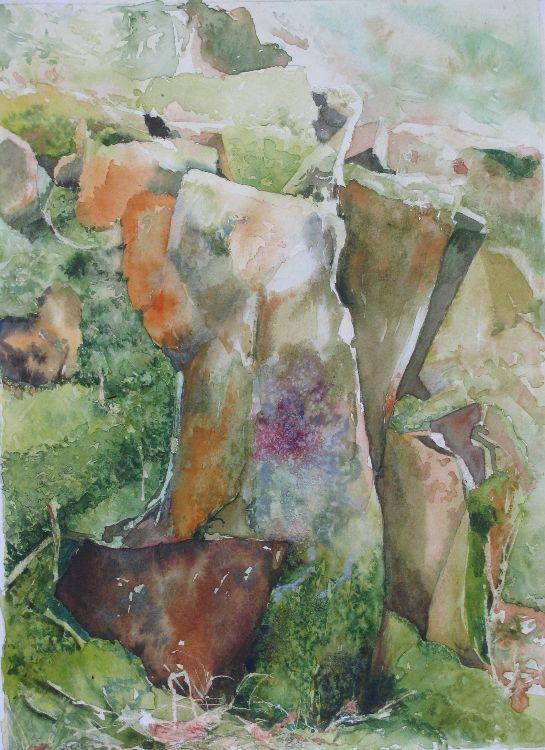 Mossy Outcrop. Strensall series.