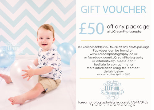 £50 off any package