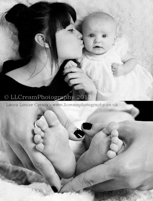 Beautiful shots of Laura and her daughter Evie