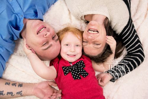 I love relaxed family shoots