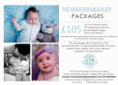 Newborn & Baby Package (parents & siblings included)