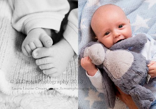 This little man brought his favourite bear along to his photo session