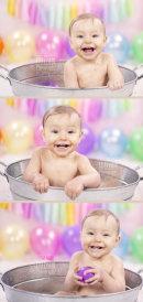 Sometimes the tin bath is the best bit!