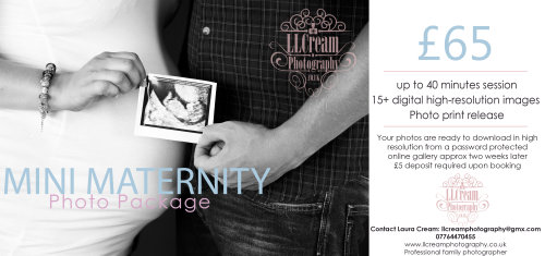 mini maternity package