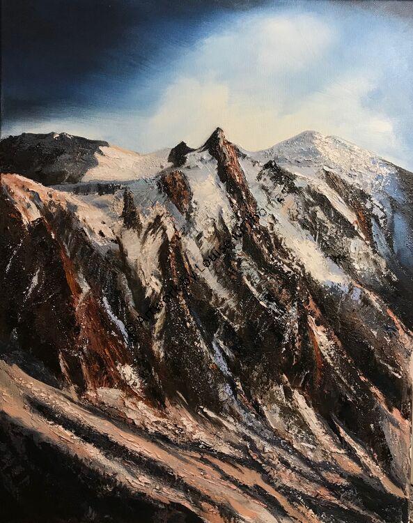 Aguille du Midi Shaded Peak