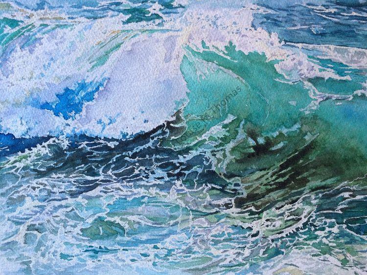 Algarve wave  (SOLD)