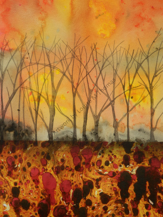 Forest fire (SOLD)
