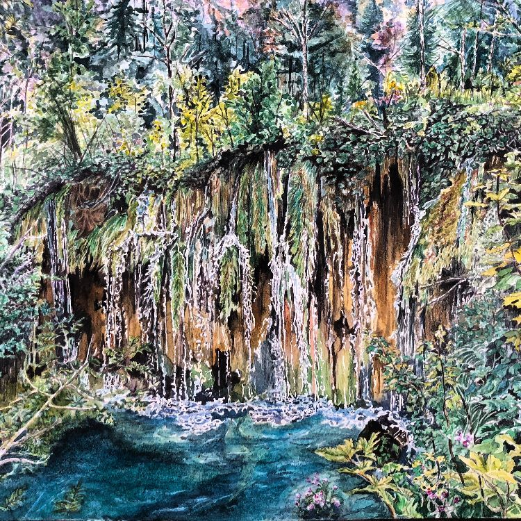 Plitvice falls (SOLD)