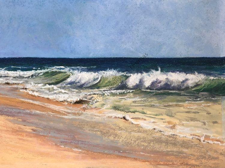 QDL shoreline pastel