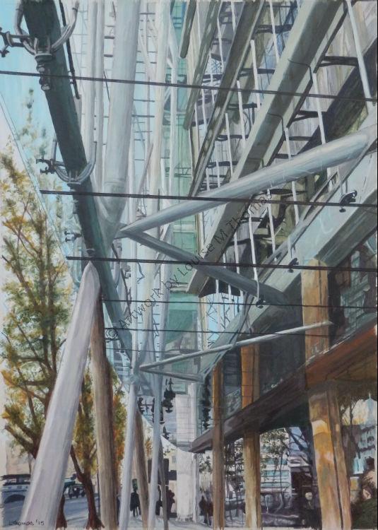 Regents Park Road reflections (SOLD)