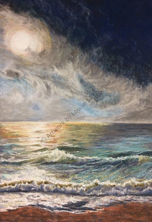 Sea sunset (SOLD)