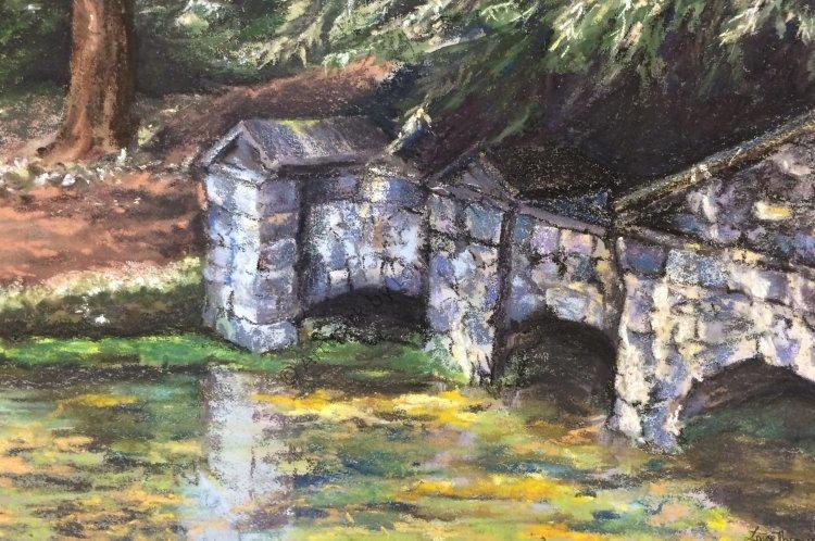 Stowe footbridge