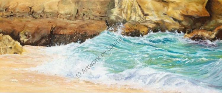 San Raphael, Algarve oil on canvas