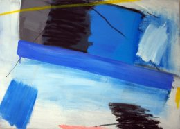 "Bedroom Blue (19.5"" x 27.5"" / 50 x 70 cm)"