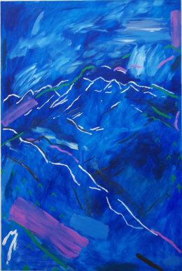 Blue Mountains (6' x 4' / 183 x 122 cm)